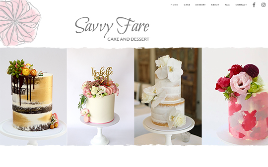 Savvy Fare Cake and Dessert