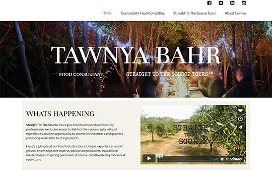 Tawnya Bahr Food Consulting