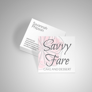 Savvy Fare business cards