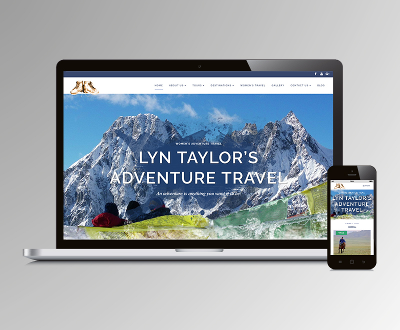 Lyn Taylor adventure travel website